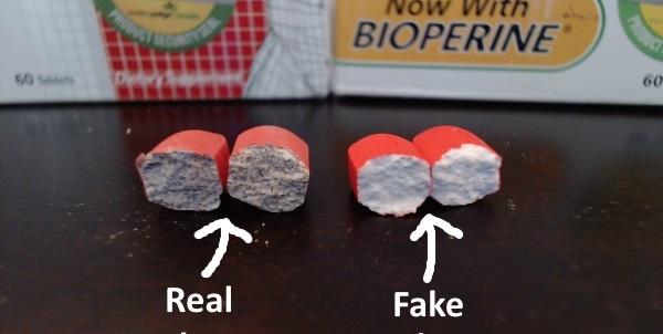 diferencias entre la VirRx plus verdadera y la falsa