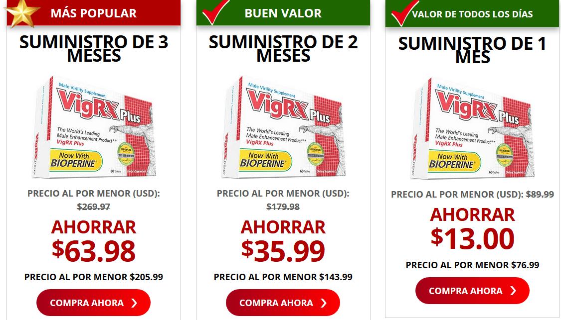 precio de vigrxplus